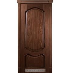Дверь деревянная межкомнатная ВЕРОНА ПГ Африканский орех