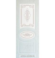 Дверь деревянная межкомнатная ВИНЭЛЬ ПО Снежный Дуб