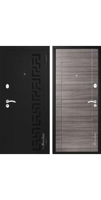 """Дверь входная металлическая """"МЕТАЛЮКС"""" М202  «Дуб серый» «№35»"""
