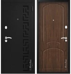 """Дверь входная металлическая """"МЕТАЛЮКС"""" М204 «Орех рыжий» «№37»"""