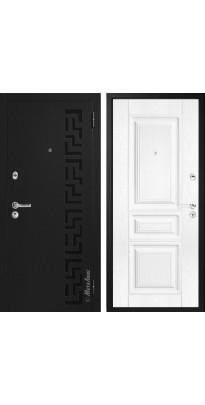 """Дверь входная металлическая """"МЕТАЛЮКС"""" М29 ясень белый №36"""