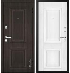 """Дверь входная металлическая """"МЕТАЛЮКС"""" М34.2 «Белый» «№17»"""