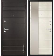 """Дверь входная металлическая """"МЕТАЛЮКС"""" М701.1 «Дуб англ.», «Ясень крем.»"""