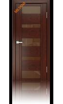 Дверь деревянная межкомнатная QDO M Красное дерево