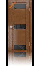 Дверь деревянная межкомнатная QDO R Дуб натуральный