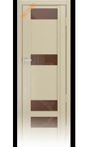 Дверь деревянная межкомнатная QDO R Капучино