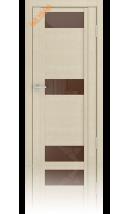 Дверь деревянная межкомнатная QDO R Слоновая кость