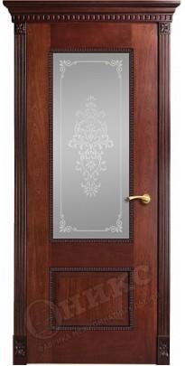 Дверь межкомнатная Александрия-2 красное дерево