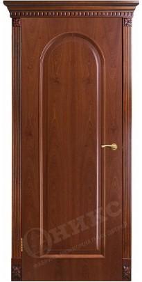 Дверь межкомнатная Арка2 красное дерево