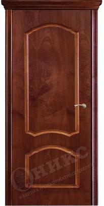 Дверь межкомнатная Диана красное дерево