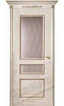 Дверь межкомнатная Версаль декор патина