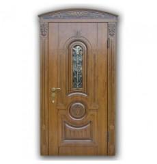 Дверь входная металлическая А-36 со стеклопакетом