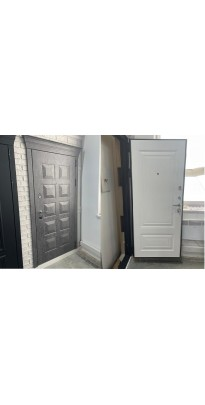 """Дверь входная металлическая Бункер """"Сопрано"""" с капителью"""