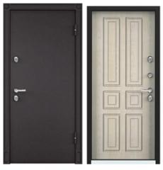 Дверь входная с терморазрывом SNEGIR 20 шоколад/дуб бежевый