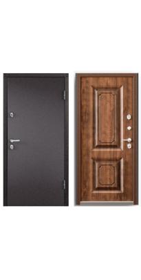Дверь входная с терморазрывом SNEGIR 20 шоколад/орех грецкий