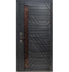 Входная металлическая дверь в дом «Титаниум»
