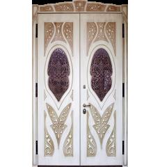 Двустворчатая дверь в частный дом «Роксолана»