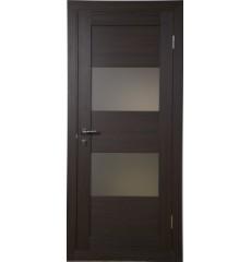Двери межкомнатные QUATTRO-5 венге, беленый дуб