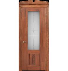 Дверь деревянная межкомнатная АСТИ декор массив дуба