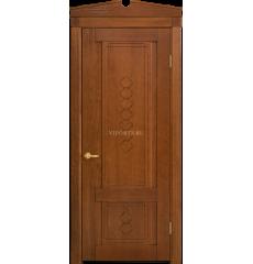 Дверь деревянная межкомнатная ШАМОНИ декор массив дуба