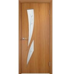 Дверь деревянная межкомнатная ТИП С-02 Ф миланский орех