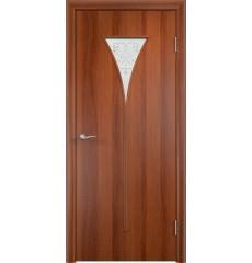 Дверь деревянная межкомнатная ТИП С-04 х итальянский орех