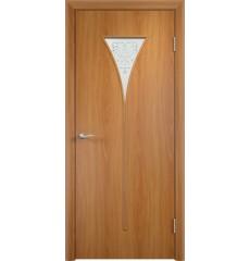 Дверь деревянная межкомнатная ТИП С-04 х миланский орех