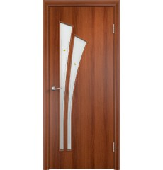 Дверь деревянная межкомнатная ТИП С-07 ф итальянский орех