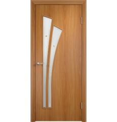 Дверь деревянная межкомнатная ТИП С-07 ф миланский орех
