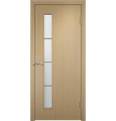 Дверь деревянная межкомнатная ТИП С-14 ДО белёный дуб