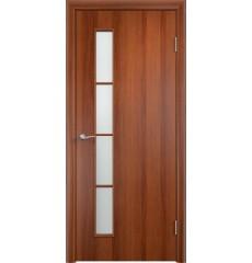 Дверь деревянная межкомнатная ТИП С-14 ДО итальянский орех