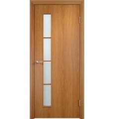 Дверь деревянная межкомнатная ТИП С-14 ДО миланский орех