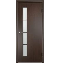 Дверь деревянная межкомнатная ТИП С-14 ДО венге