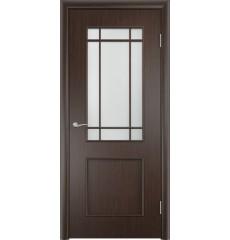 Дверь деревянная межкомнатная ТИП С-20(ф) венге