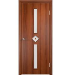 Дверь деревянная межкомнатная ТИП С-24 (ф) итальянский орех