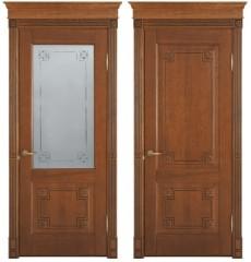 Дверь деревянная межкомнатная ФЛОРЕНЦИЯ массив дуба