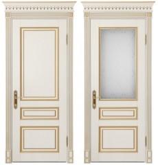 Дверь деревянная межкомнатная РИМ массив бука