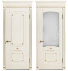 Дверь деревянная межкомнатная РИМИНИ массив дуба