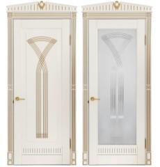 Дверь деревянная межкомнатная СИЦИЛИЯ массив бука