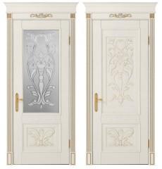 Дверь деревянная межкомнатная ВЕРОНА массив ясеня