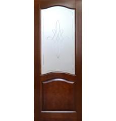 Дверь деревянная межкомнатная Натали массив сосны под лаком