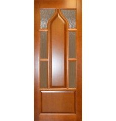 Дверь деревянная межкомнатная Стамбул массив сосны под лаком
