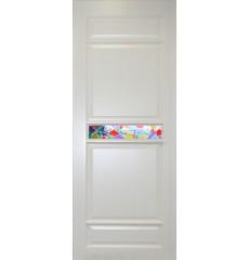 Дверь деревянная межкомнатная Велена массив сосны под лаком