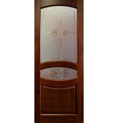 Дверь деревянная межкомнатная Виктория массив сосны под лаком