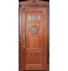 Дверь деревянная межкомнатная Статус массив ясеня