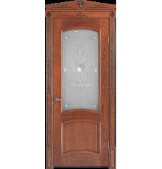 Дверь деревянная межкомнатная Бристоль массив ясеня