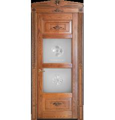 Дверь деревянная межкомнатная Парма массив ясеня
