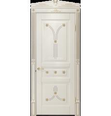 Дверь деревянная межкомнатная Олимпия массив ясеня