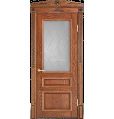 Дверь деревянная межкомнатная Рим массив ясеня