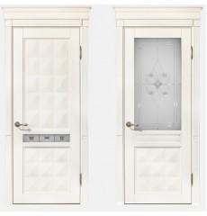 Дверь деревянная межкомнатная Вита массив ясеня